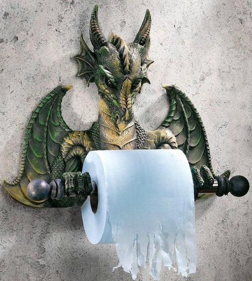 dragon toilettes