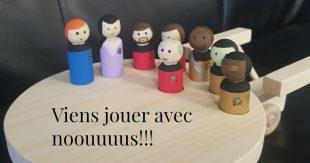 figurines bois
