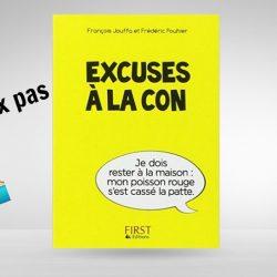 livre excuses