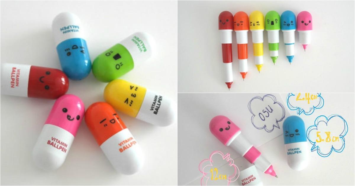 Des Stylo R Tractables Petites Pilules Pour Survitaminer