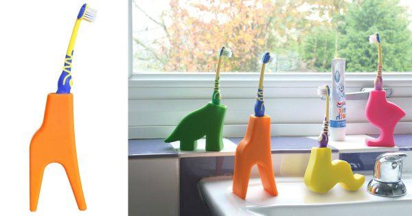 porte brosse à dents girafe