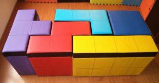 poufs tetris