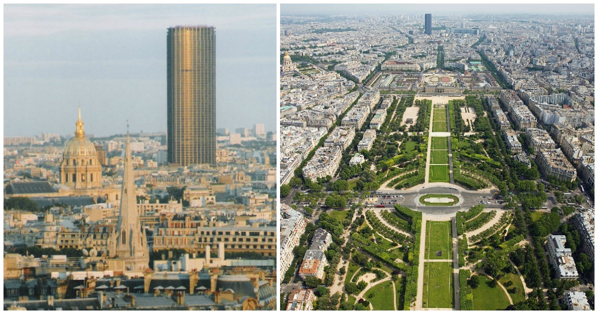 Top 10 des plus hautes tours de paris intra muros pour for Tour les plus hautes