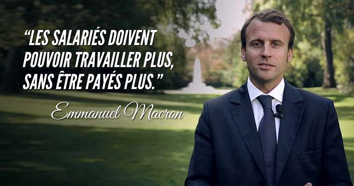 Qui est Emmanuel Macron ? - Page 6 Une_citation