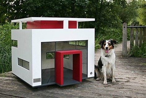 Cubix Dog House - Beds, Blankets & Furniture - Outdoor Houses Posh Puppy Boutique