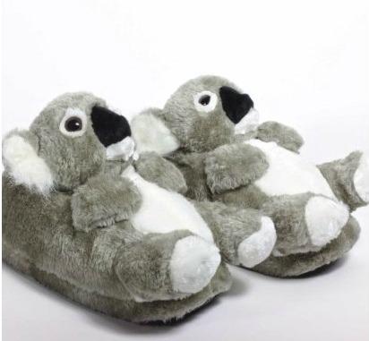 Sleeper'z - Koala - Chaussons animaux peluche - Adulte et enfant - Homme et Femme- Amazon.fr- Chaussures et Sacs