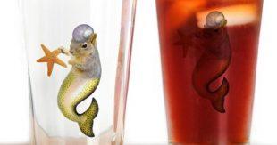 mermaid_squirrel_drinking_glass