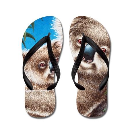 queen_duvet_koalas_flip_flops