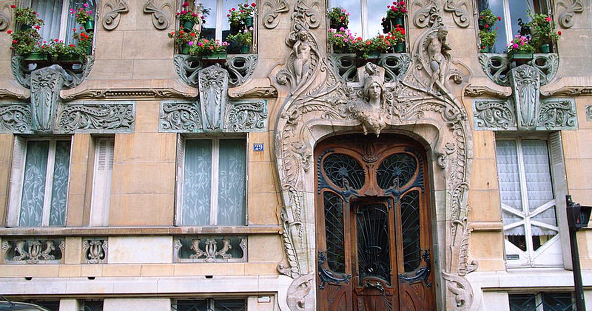 Top 10 des plus beaux immeubles art nouveau de paris y a - Art nouveau architecture de barcelone revisitee ...