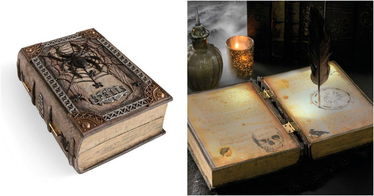 Un livre de sort magique qui crit tout seul topito for Miroir qui tombe tout seul
