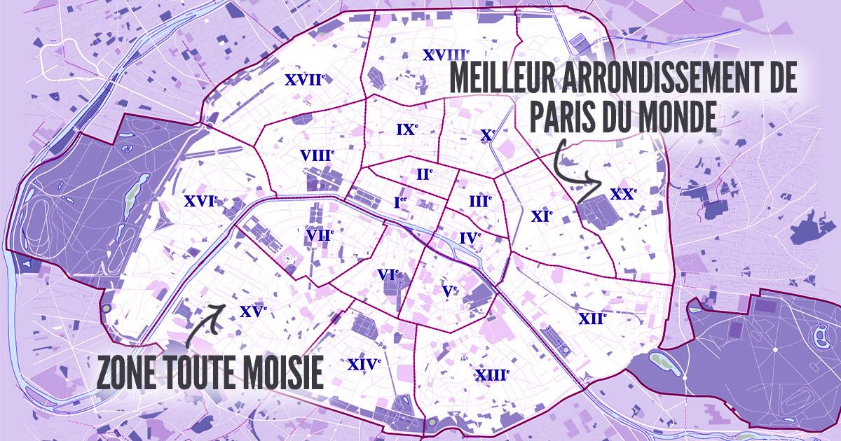 top 20 des meilleurs arrondissements de paris du plus cool au plus naze topito. Black Bedroom Furniture Sets. Home Design Ideas