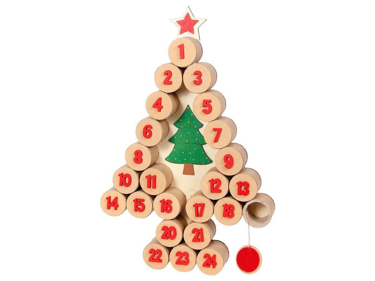 Un calendrier de l 39 avent en bois remplir soi m me topito - Remplir calendrier de l avent garcon ...