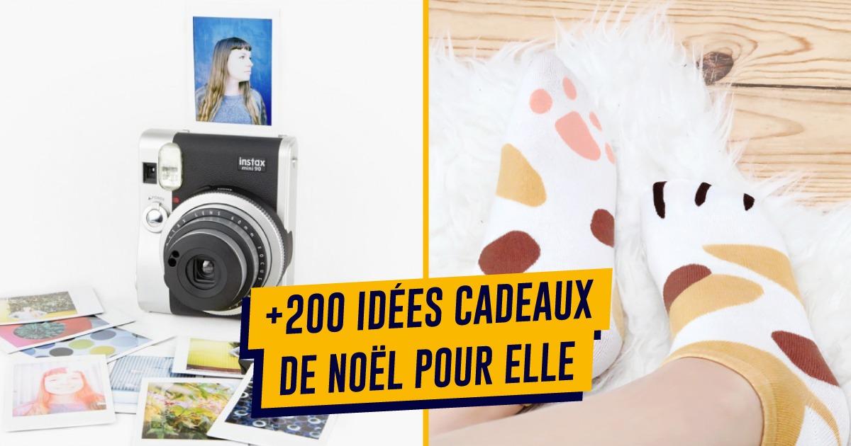 topito cadeau noel 2018 Top 200+ des idées cadeaux de Noël pour femme, maman, copine  topito cadeau noel 2018