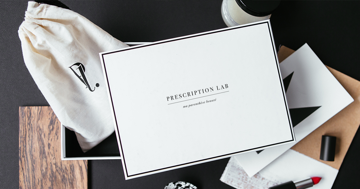une box beaut de produits cosm tiques prescription lab topito. Black Bedroom Furniture Sets. Home Design Ideas