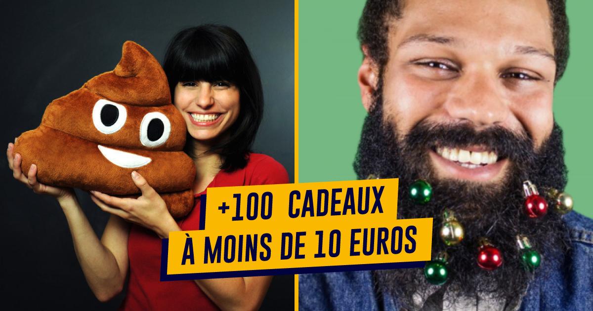 top 200+ des idées cadeaux à moins de 10€ | topito