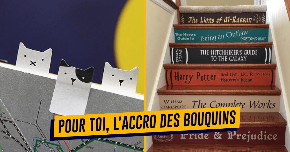 top 30+ des cadeaux pour ceux et celles qui lisent, lecteurs