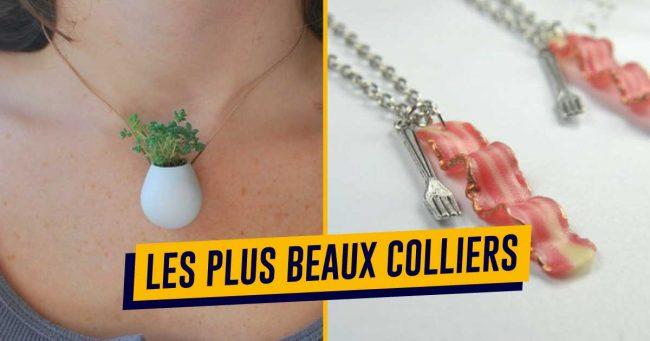 Top 70+ des colliers et pendentifs les plus originaux, pour changer des perles