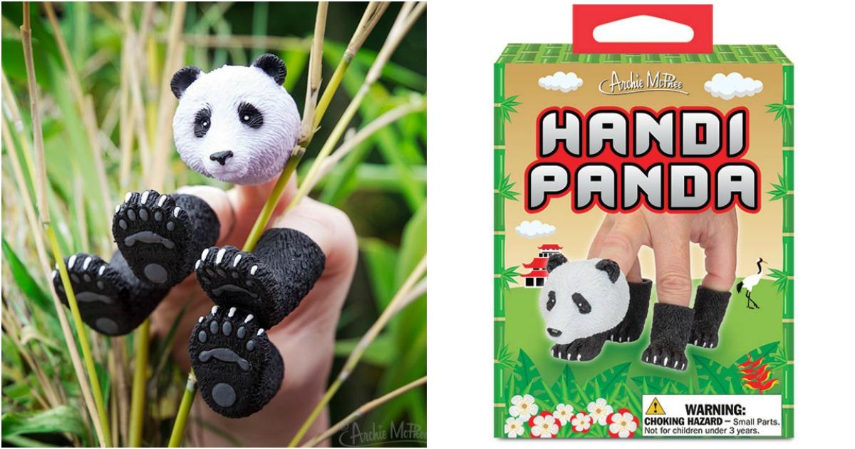 des marionnettes de doigts pour te transformer en panda. Black Bedroom Furniture Sets. Home Design Ideas