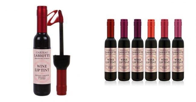 Un Gloss Bouteille De Vin