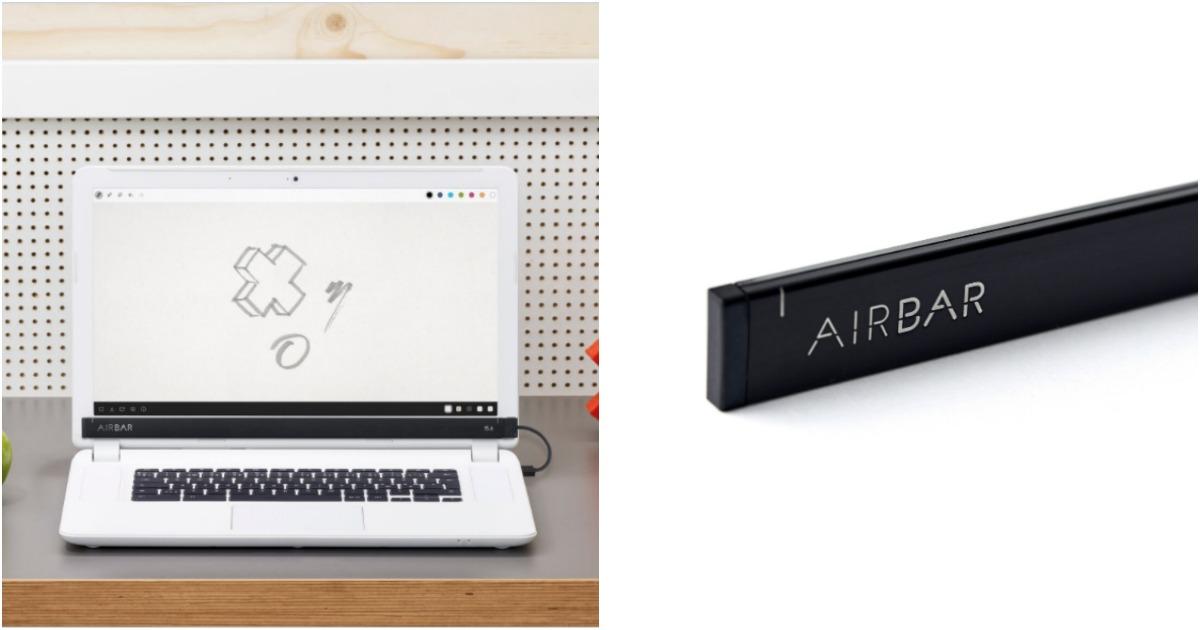 une barre pour rendre ton cran d 39 ordinateur tactile topito. Black Bedroom Furniture Sets. Home Design Ideas