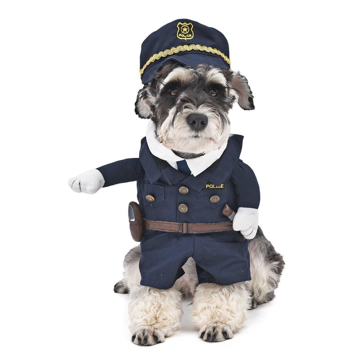 Un costume de policier pour chien | Topito