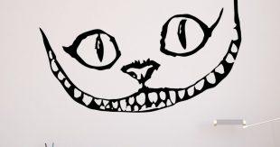 Un Sticker Mural Chat Du Chester D Alice Au Pays Des Merveilles Topito