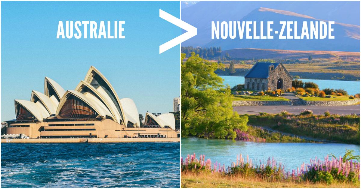 Nouvelle Zelande: Top 10 Des Raisons De Penser Que L'Australie Défonce La