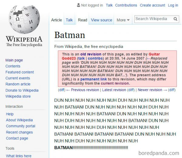 blague wikipedia