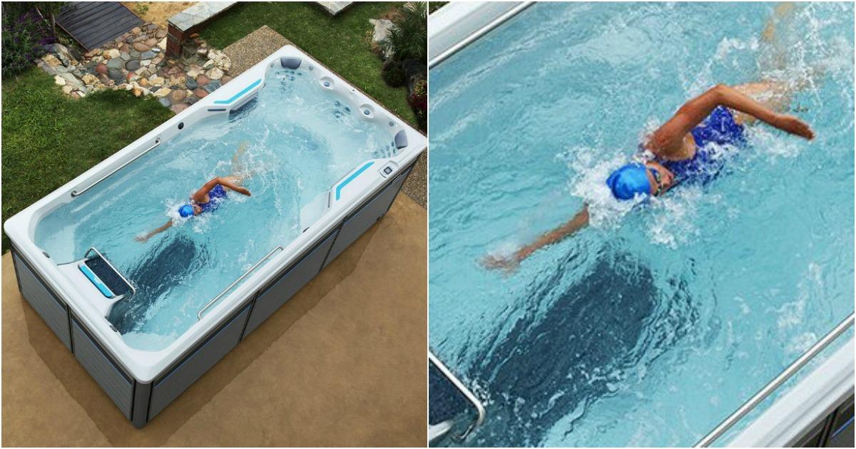 un jacuzzi piscine ou une piscine jacuzzi on ne sait pas