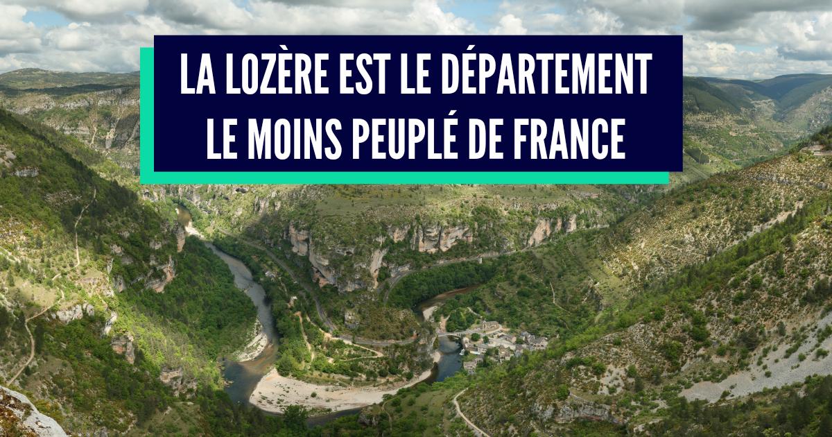 09686d83c75 Top 10 des départements les moins peuplés de France
