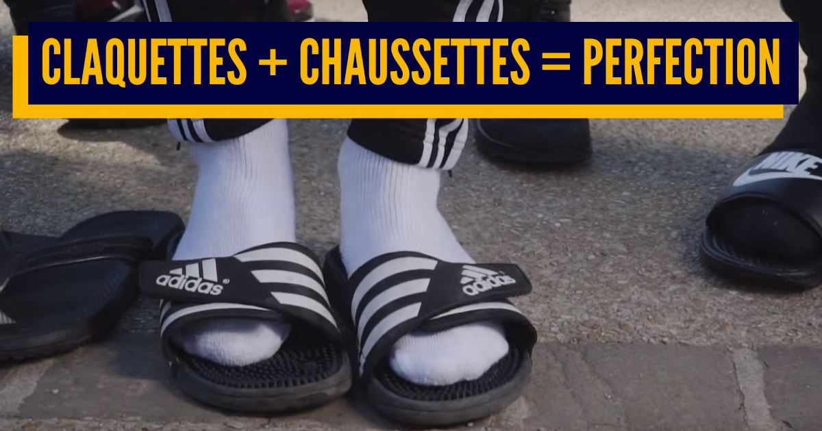 chaussettes le slip français