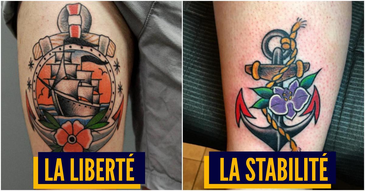 Top 10 Des Significations Des Tatouages De Marins Le Vrai Sens Du
