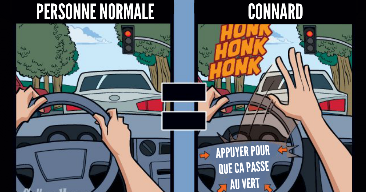 Top 7 des illustrations sur comment les connards voient le monde, même sans lunettes de connard
