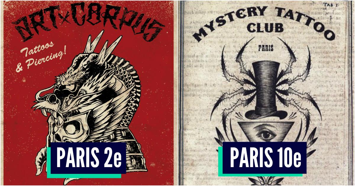 Top 10 Des Meilleurs Salons De Tatouage De Paris Coucou