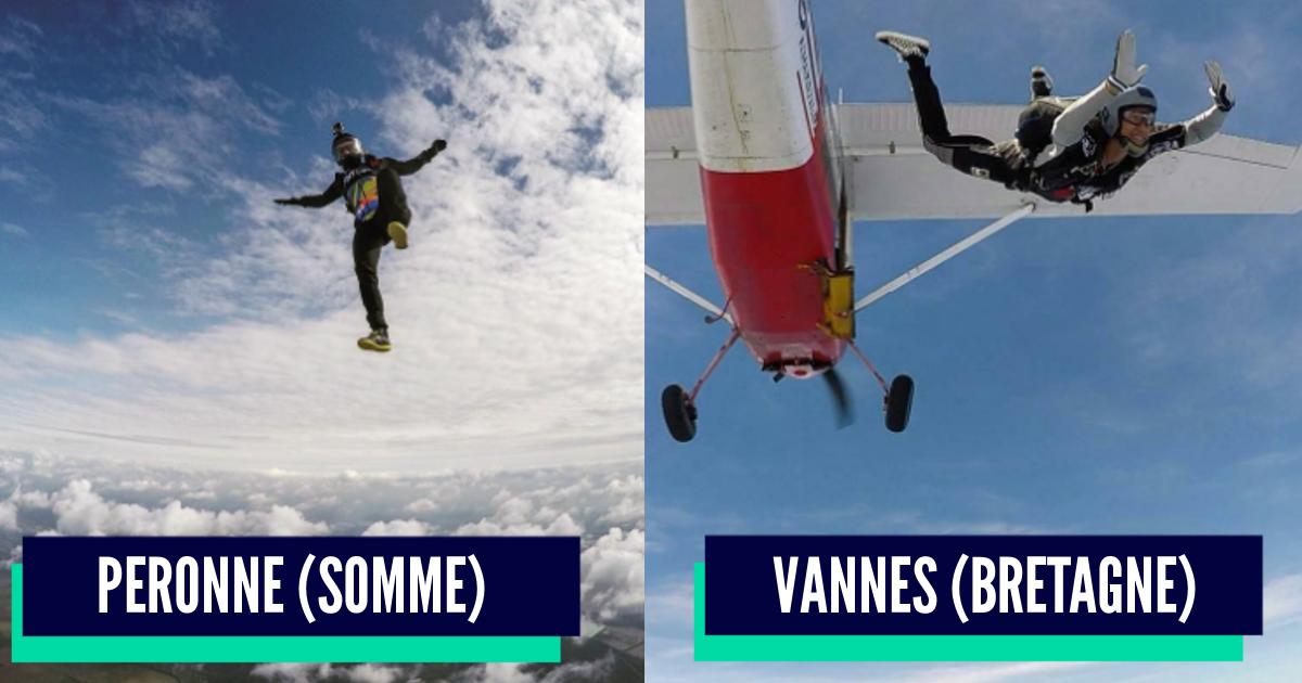 Top 10 des meilleurs spots de france pour sauter en - Saut parachute vannes ...