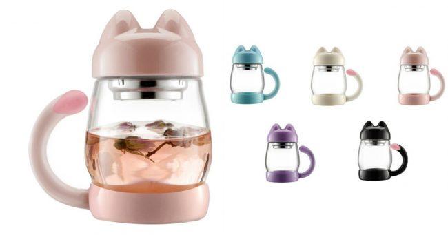 [TOPITRUC] Un mug infuseur en forme de chat