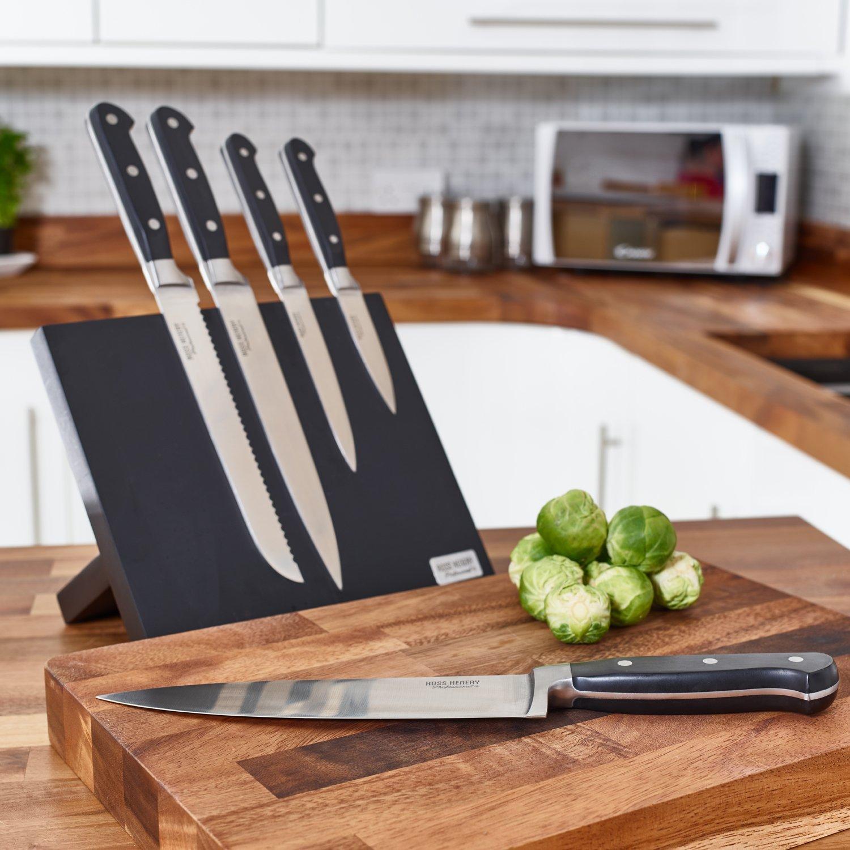 un lot de 5 couteaux de cuisine 71 topito. Black Bedroom Furniture Sets. Home Design Ideas