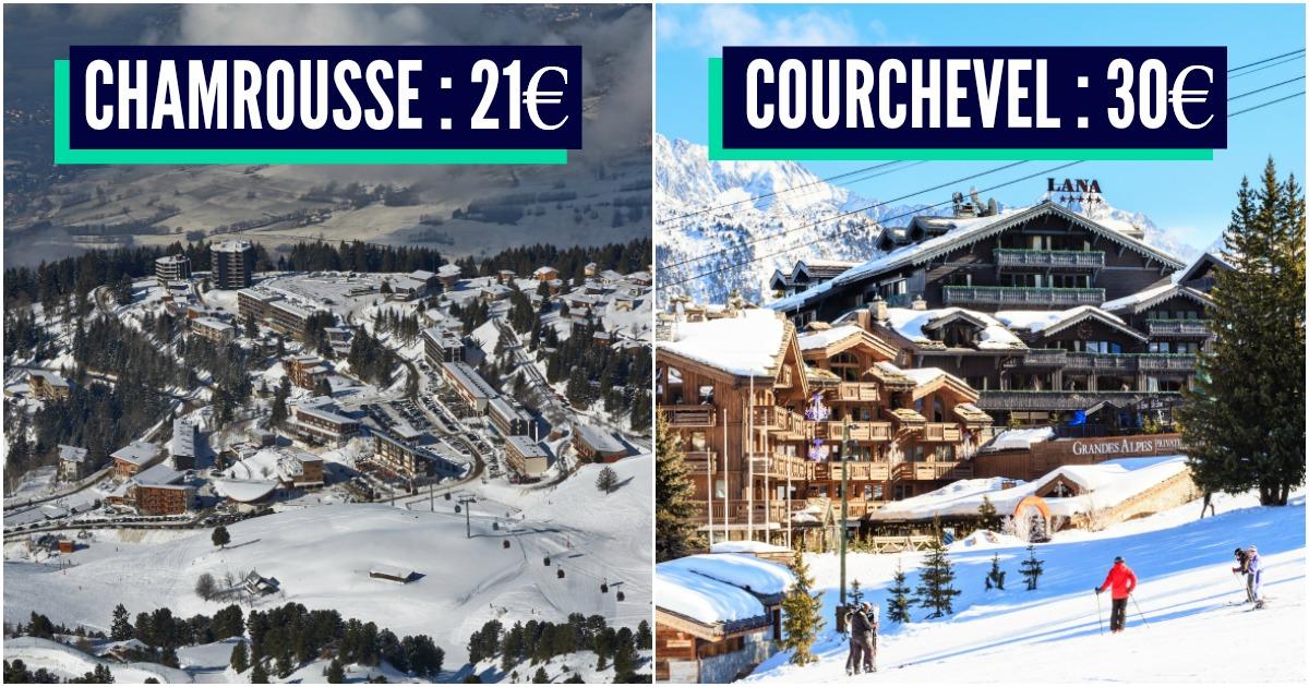 Stations de ski class es en fonction du prix de la raclette topito - Prix d une cuisine mobalpa ...