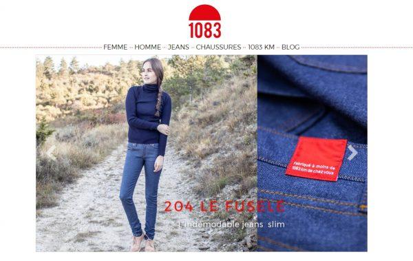 923be2accd Les jeans 1083 sont les plus made in France du monde. De la conception à la  confection, tout est fait dans l'hexagone.