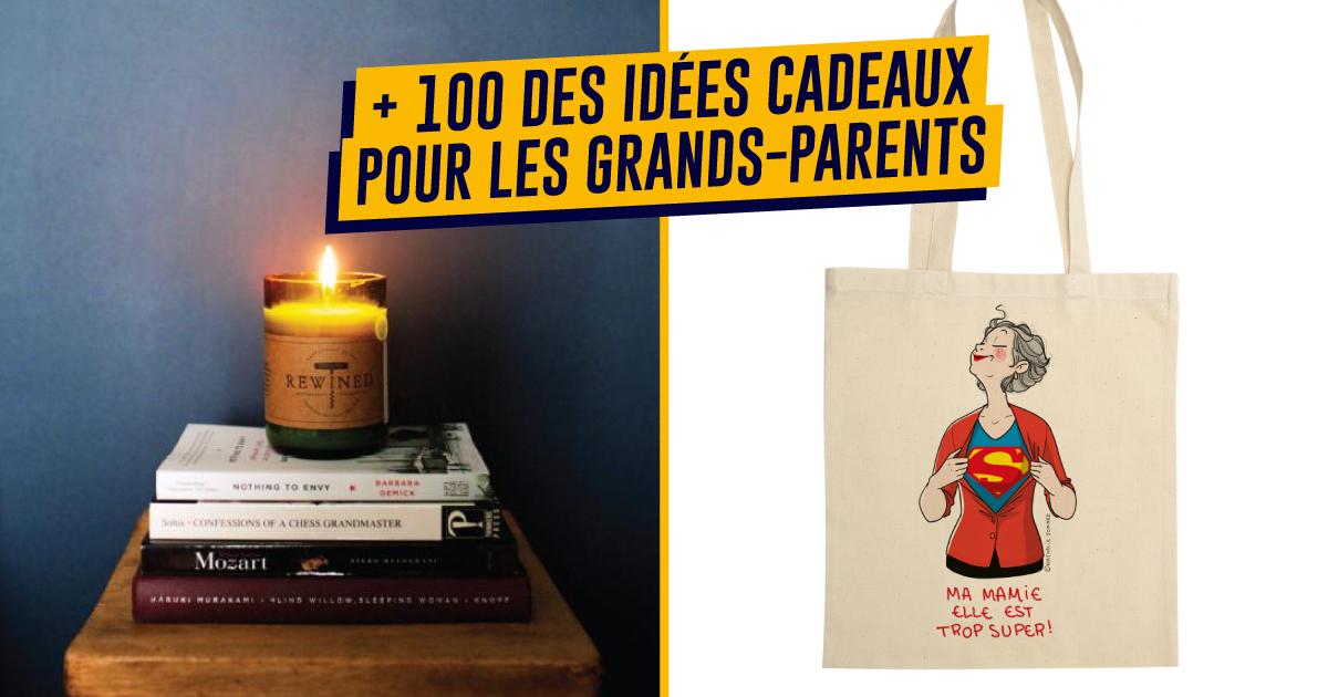 top 100+ des idées cadeaux pour les grands-parents | topito