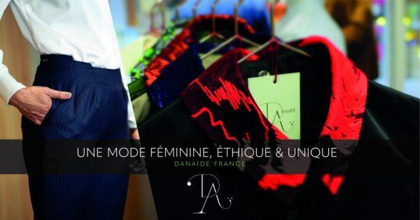 c1838278a9 Une marque Made in France avec une collection de vêtements pour femmes chic  et intemporelle. Danaïde propose des chemisiers à col amovible originaux et  ...
