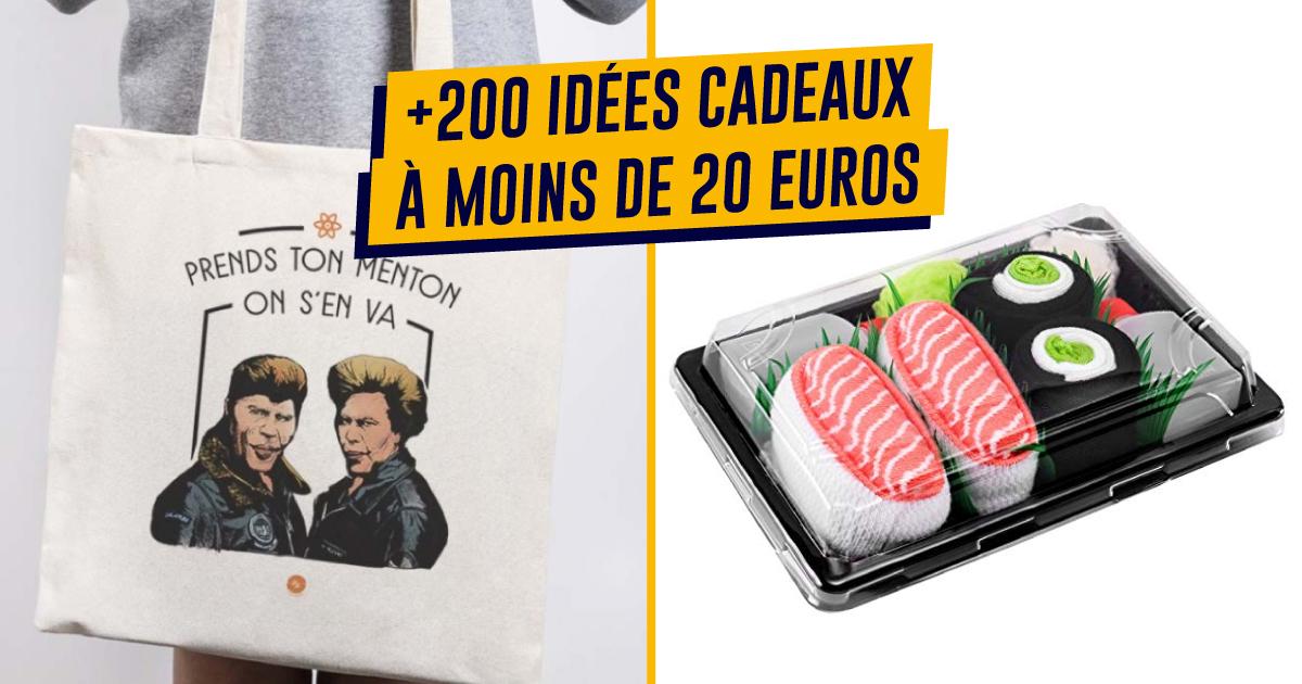 Top 500 Des Idées Cadeaux De Noël à Moins De 20 Euros Topito
