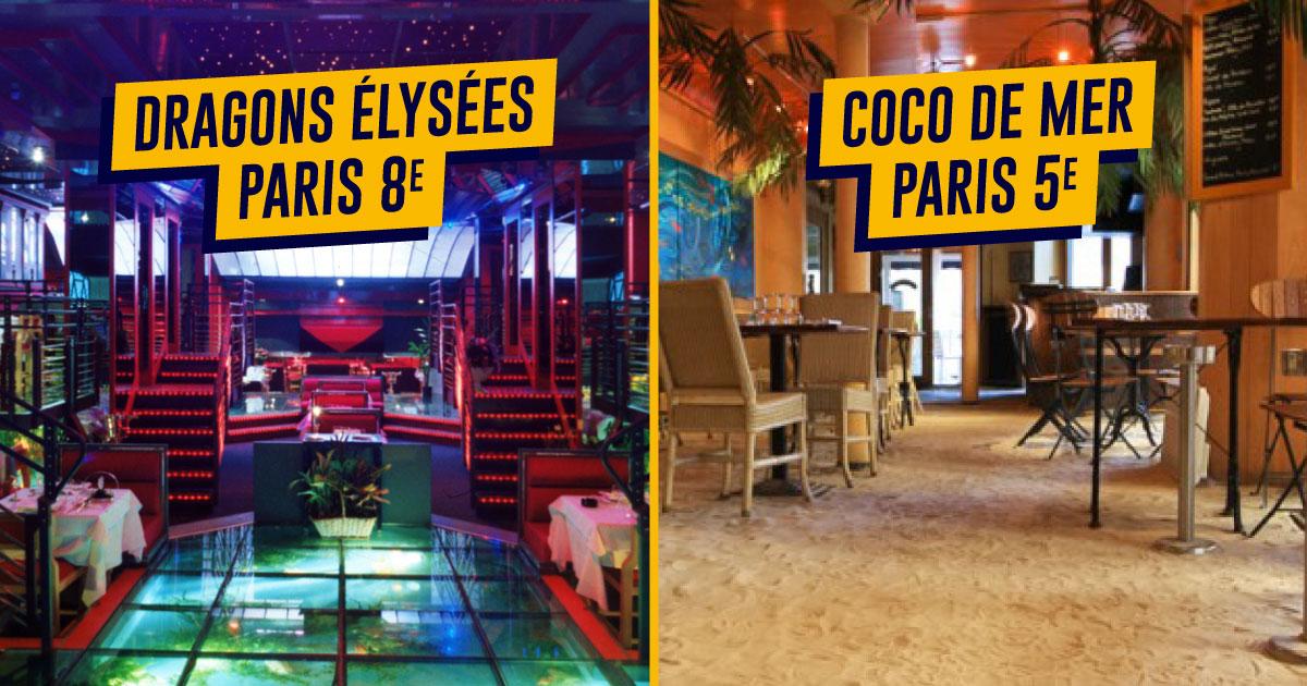 Top des restaurants insolites et originaux à paris