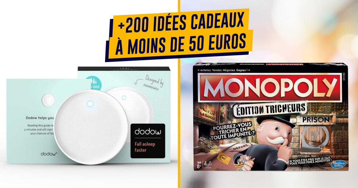 top 200+ des idées cadeaux à moins de 50 euros | topito