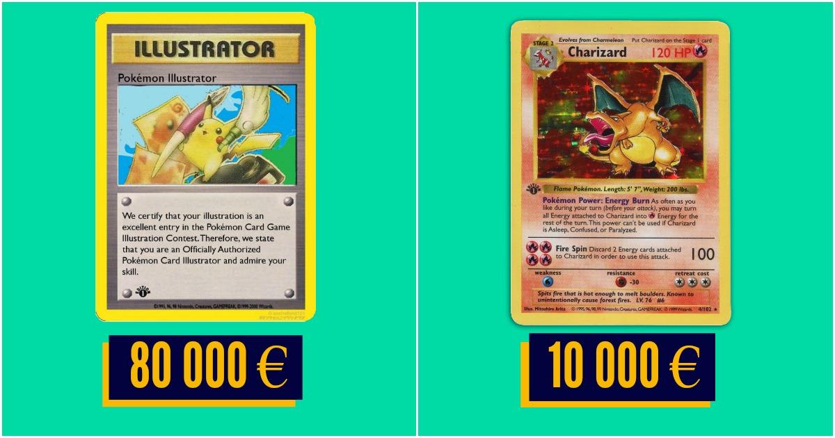 Top 10 des cartes pok mon les plus ch res de l 39 histoire - La plus forte carte pokemon du monde ...