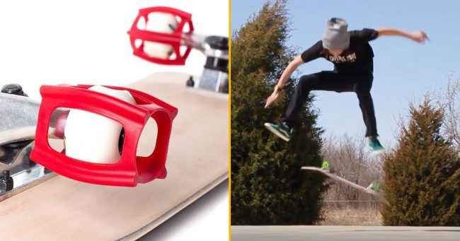 [TOPITRUC] Un Skatertrainer, pour apprendre le skate sans tomber