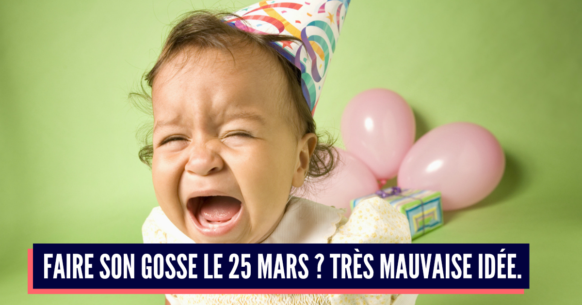 Top 10 Des Dates De Conception à éviter Pour Un Bébé Pensons