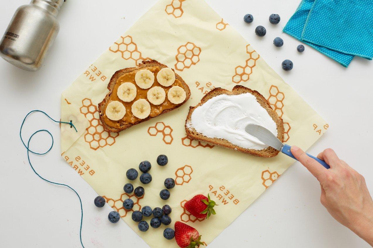 des emballages alimentaires en coton bio et cire d 39 abeille r utilisables et compostables topito. Black Bedroom Furniture Sets. Home Design Ideas