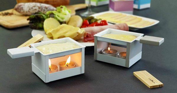 un appareil raclette la bougie si romantique topito. Black Bedroom Furniture Sets. Home Design Ideas