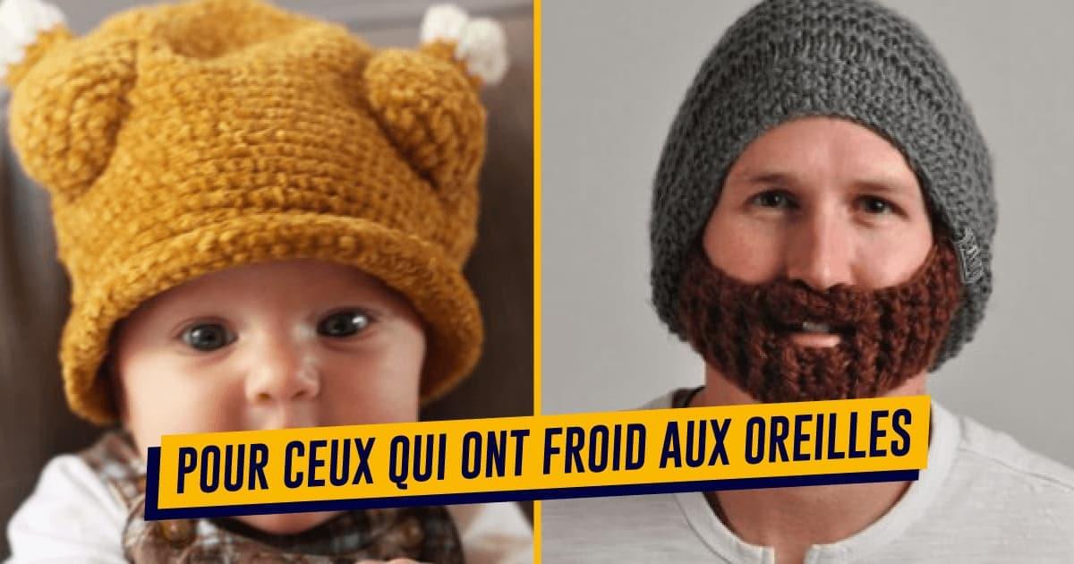 sélection spéciale de qualité authentique nouveaux produits chauds Top 70+ des bonnets les originaux, pour rendre l'hiver un ...